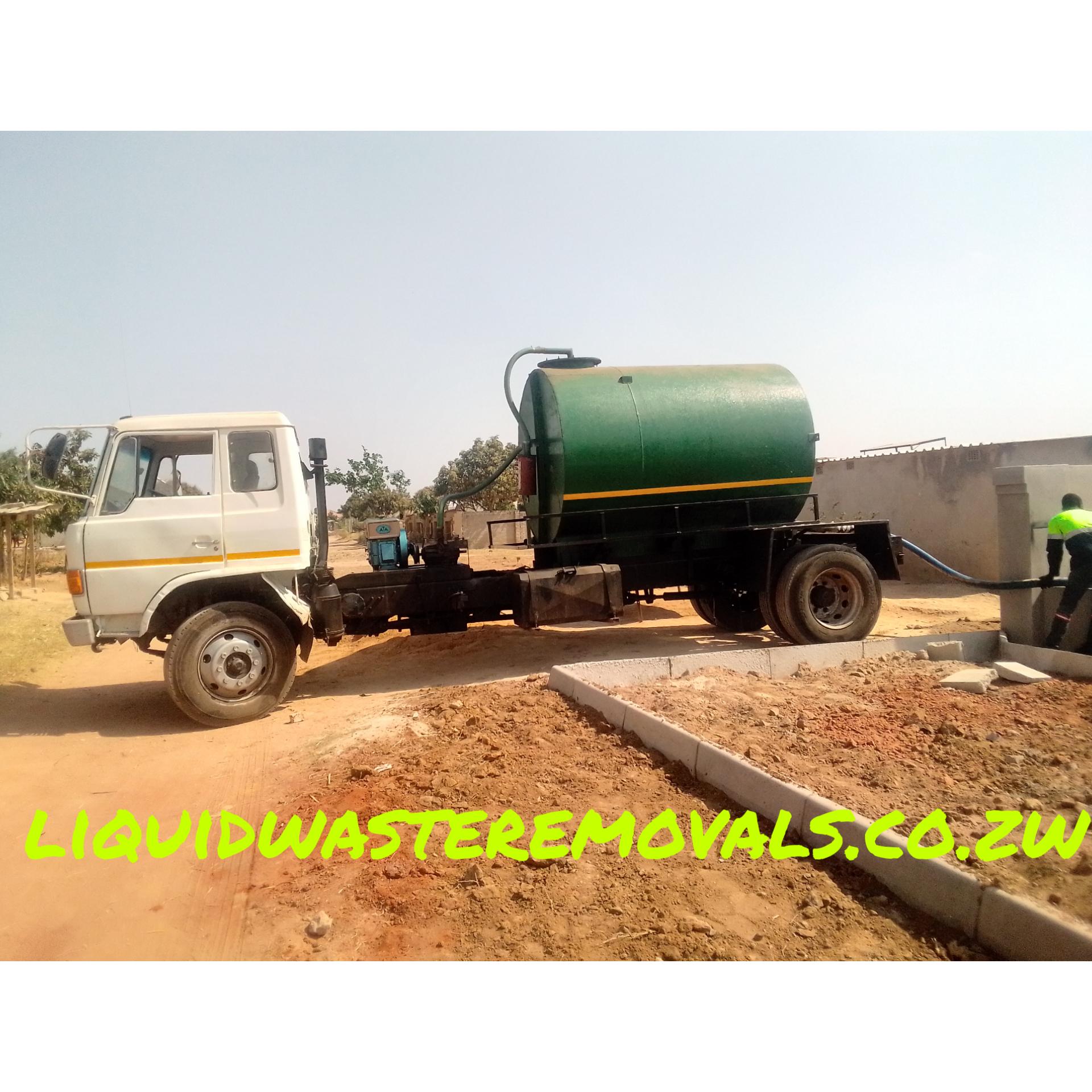 liquid waste removal harare